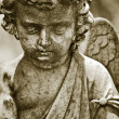 Vintage angel statue — Stock Photo