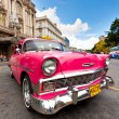 Old classic car in Havana - Stock Photo