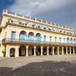 Stock Photo: Spanish palace in Old Havana