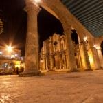 The Cathedral of Havana illuminated at night — Stock Photo #8482636