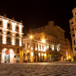Old Havana illuminated at night - Stock Photo