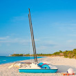 The beautiful beach of Varadero in Cuba — Stock Photo