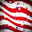 Stars and stripes pattern — Stockfoto