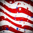 Stars and stripes pattern - Stock Photo