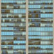 Stock Photo: Seamless pattern resemblng high rise building windows