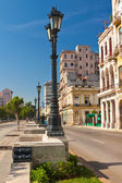 Prado, a famous street in Old Havana — Stock Photo