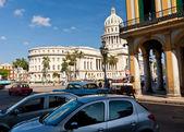 Urban view of Havana including the Capitol Building — Zdjęcie stockowe
