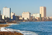 The skyline of Havana on a beautiful day — Stock Photo