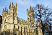 The Cathedral of Canterbury on a beautiful day — Stock Photo
