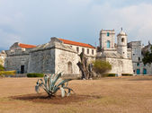 Colonial castle in Old Havana — Stock Photo