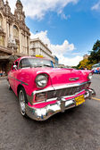 Old classic car in Havana — Stock Photo