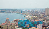 Aerial view of Havana — Foto Stock
