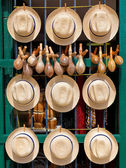 Traditional souvenirs for sale in Old Havana — Stock Photo