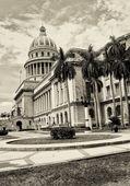 哈瓦那的国会大厦 — 图库照片