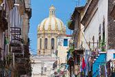 在哈瓦那老城建筑 — 图库照片