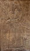 Tabuleta de argila assírio antigo — Foto Stock