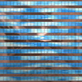 Seamless pattern resembling glass windows on a modern building — Stock Photo