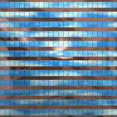 Asemejándose a ventanas de cristal en un moderno edificio de patrones sin fisuras — Foto de Stock