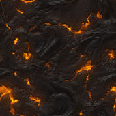 Seamless lava or fire texture — Stock Photo
