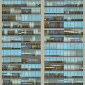 Seamless pattern resemblng high rise building windows — Photo