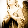 Stock Photo: Praying angel