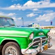Royalty-Free Stock Photo: Classic american car parked in Havana