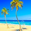 The famous beach of Varadero in Cuba — Stock Photo