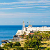 The fortress of El Morro in the bay of Havana — Photo
