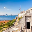 The famous castle of El Morro in Havana — Stock Photo