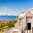 The famous castle of El Morro in Havana - Stock Photo