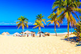 The beach of Varadero in Cuba — Stock Photo