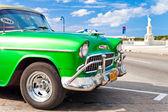 Classic 1955 Chevrolet parked in Havana, Cuba — Stock Photo