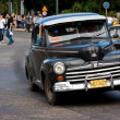 Old classic american car in the streets of Havana — Stock Photo