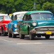 Old classic american cars in the streets of Havana — Stock Photo #8599259