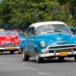Old classic american cars in the streets of Havana — Stock Photo