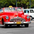 Old classic american car in the streets of Havana — Stock Photo #8599270