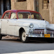 Old classic americcar, icon of Havana — Stock Photo #8599276