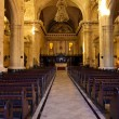 Interior of the Cathedral of Havana — Stock Photo #8712379