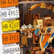 Stock Photo: Traditional merchandise for sale in Old Havana