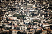 Aerial view of Havana and its old buildings — Stock Photo