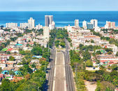 The city of Havana on a beautiful summer day — Stock Photo