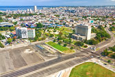 Revolution Square in the city of Havana — Stock Photo