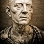 Vintage image of Julius Caesar — Stock Photo