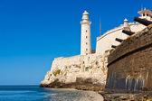 The castle of El Morro, a symbol of Havana — Stock Photo