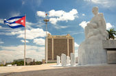 The Revolution Square in Havana — Stock Photo