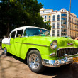 Old american car in Havana — Stock Photo