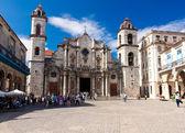 La catedral de la habana — Foto de Stock