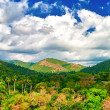 Mountains and tropical valleys in Cuba — Stock Photo
