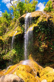 Waterfall on a cuban natural reserve — Stock Photo