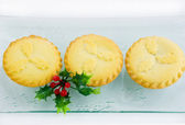 Mince tarts — Stock Photo